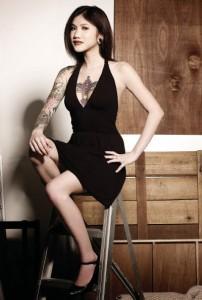 Singapore nude model, Daphne Ang - Alvinology