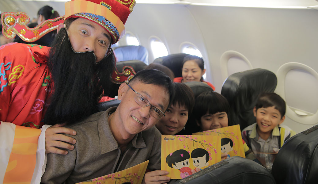 Tigerair Ushers in the Lunar New Year with Giveaways Worth S$80,000