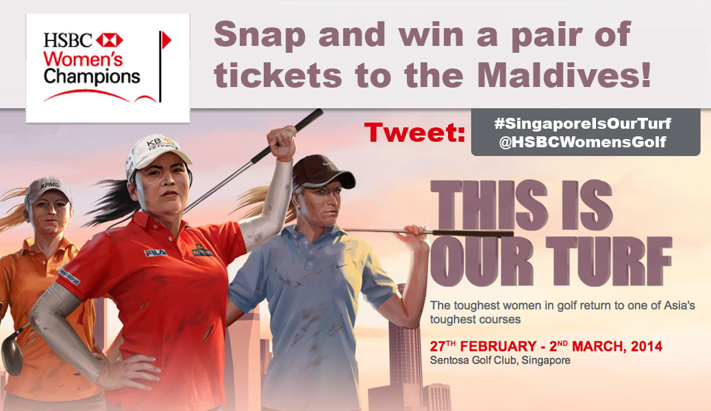 "HSBC Women's Champions 2014 ""Snap and Win"" photo contest"