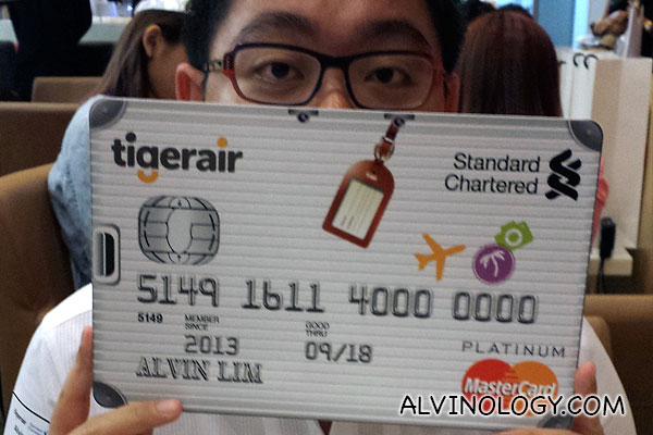 Standard Chartered and Tigerair guarantees you a faster way to your next getaway with joint Platinum Credit Card