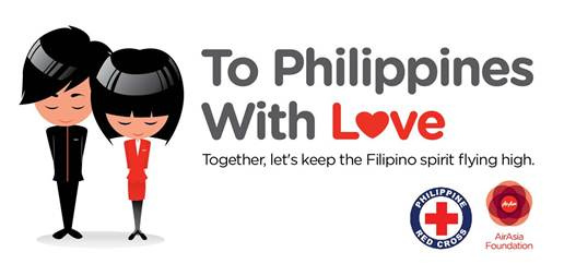 AirAsia offers assistance to Philippines typhoon victims with #toPHwithlove campaign