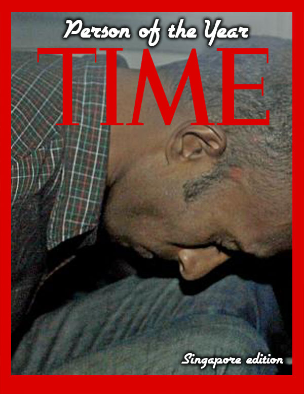 Time Person of the Year 2013 (Singapore Edition)