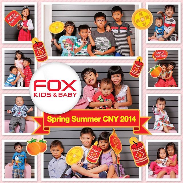 Chinese New Year Shopping with Asher @ FOX Kids & Baby