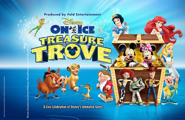 Disney On Ice's Treasure Trove @ JEM