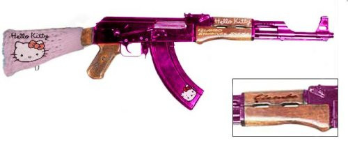 Hello Kitty Assault Rifle