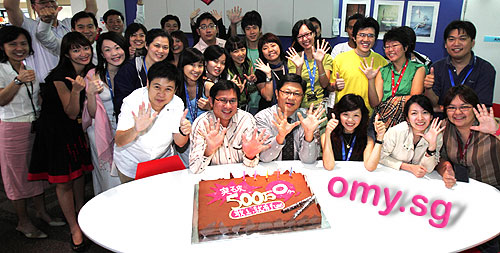 omy.sg is ONE MONTH old!