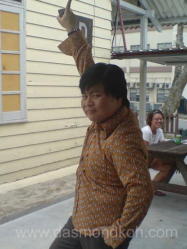 Local Comedian, MC King (蓝顉嘻) is dead!