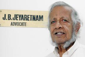 JB Jeyaretnam passed away yesterday