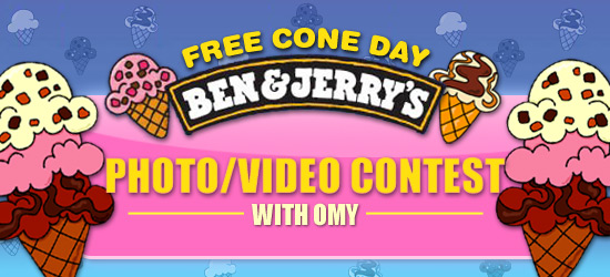 Ben & Jerry's Free Cone Day!~
