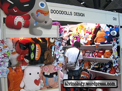 Photos Galore! Singapore Toy & Comic Convention 2008 - Alvinology