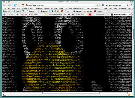 Linux Penguin in HTML