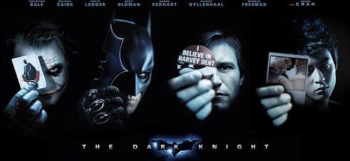 The Dark Knight and Edison Chen