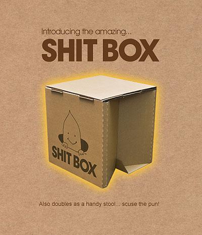 Shit Box: Portable Toilet