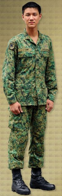 "New uniform for Singapore's ""Thinking Soldiers"""