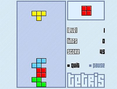 Flash Tetris - Alvinology