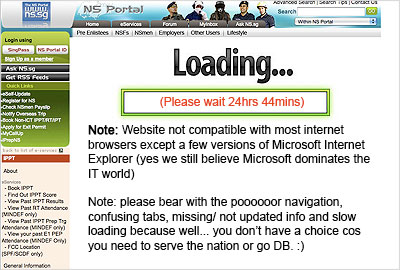 Singapore's Worst Website – NS.SG?
