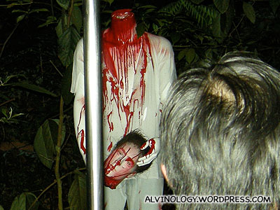 Halloween Horrors at Night Safari