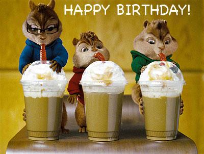 Happy Birthday to... - Alvinology