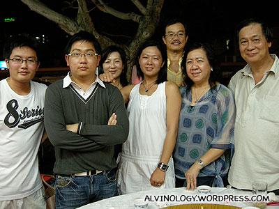 Birthday dinner with my family - Alvinology