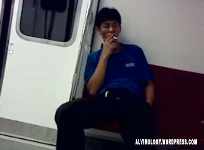 MRT and LRT now smoking haven for uncles