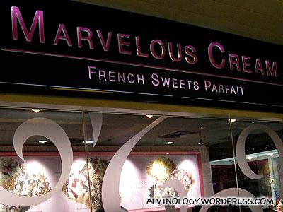 Marvelous Cream - Alvinology