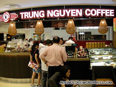 Trung Nguyen Coffee @ Liang Court