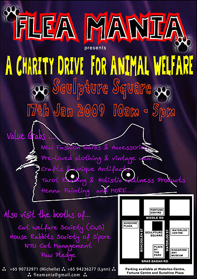 Flea Mania: flea market to benefit stray animals - Alvinology