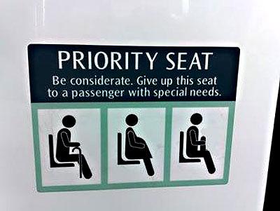 Man jacks off in MRT train cabin?