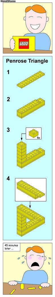 Impossible Lego Instruction