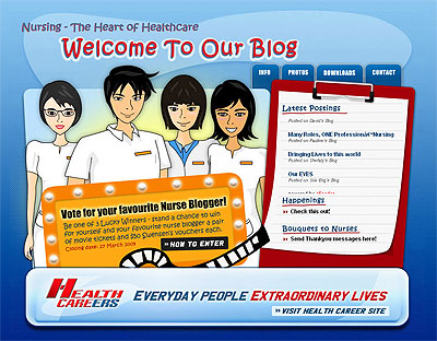 Singapore Nurse Blog