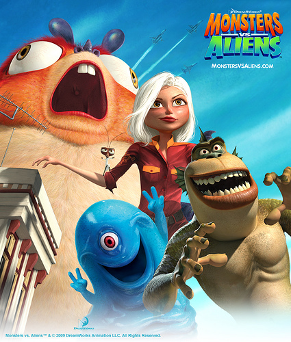 Monsters vs Aliens (3-D)