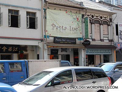 Pasta Inc @ Jalan Besar