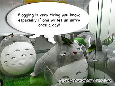 Blogging Fatigue