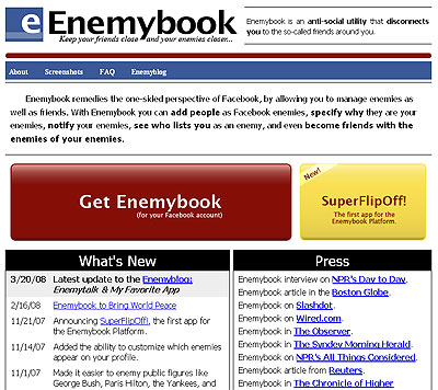 Enemybook anyone?
