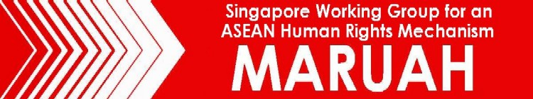 A Statement from MARUAH – Singapore Labour Day 2012