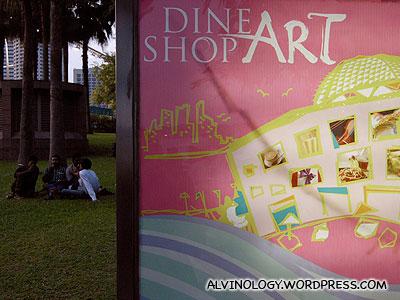 Dine, Shop, Art @ Esplanade