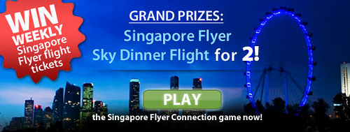 Win Weekly Singapore Flyer Tickets