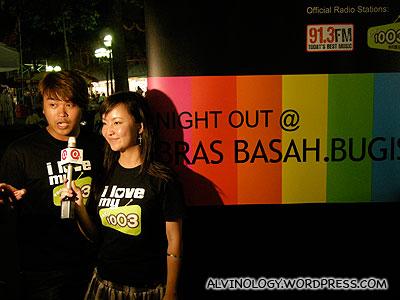 Bras Basah Bugis Trishaw Night Tour with Radio 100.3 DJs Jianwen & Kemin   - Alvinology