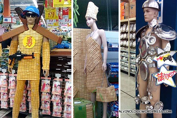 China's Talented Supermarket Staff and their Amazing Product Displays