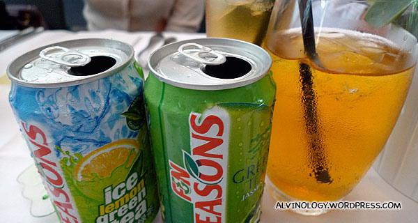 New F&N Seasons Jasmine Green Tea and Ice Lemon Green Tea - Alvinology