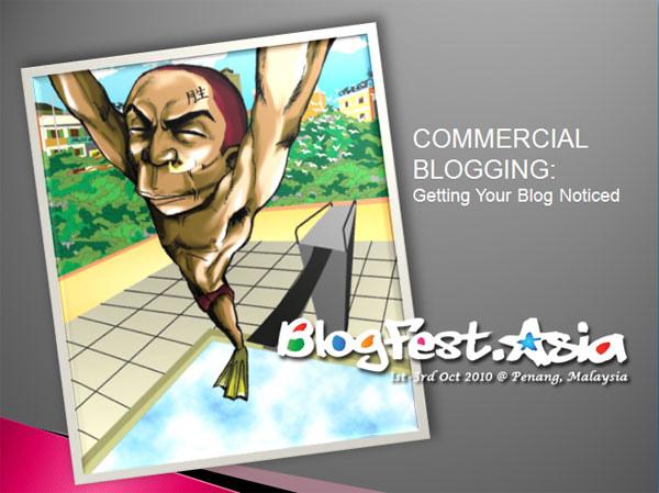 BlogFest Asia 2010 @ Penang, Malaysia