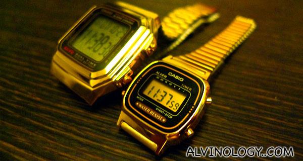 金表,一起度过黄金岁月 Gold Watches for Golden Memories