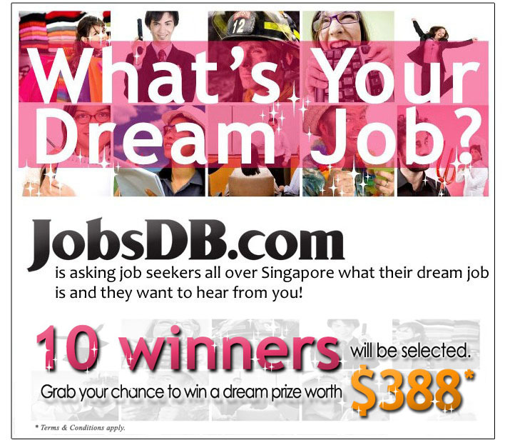 JobsDB.com's What's Your Dream Job Contest