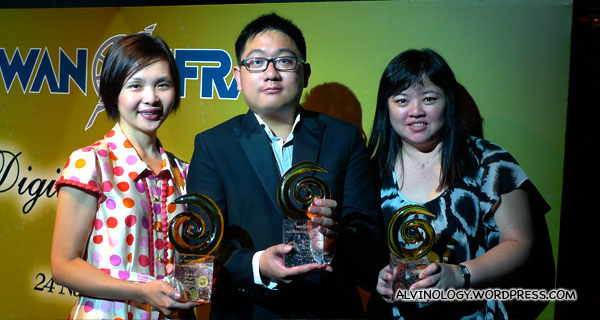 omy.sg wins one Gold and two Bronze at the inaugural Asian Digital Media Awards 2010