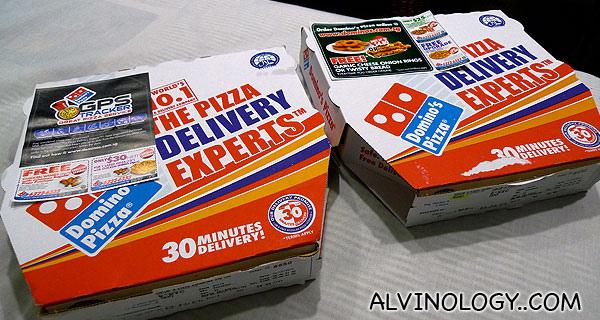 Domino's Pizza in Singapore
