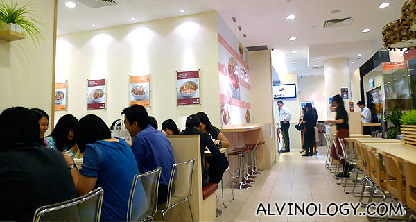 Simply Asian Meals SAM @ 1 Raffles Place - Alvinology