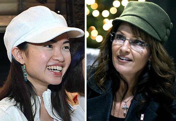Tin Pei Ling and Sarah Palin - Alvinology