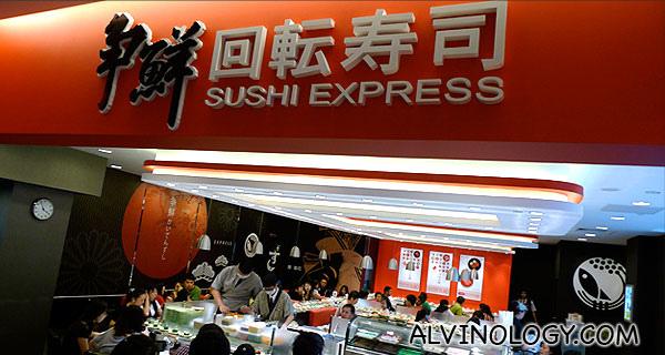 Sushi Express (爭鮮迴轉壽司) @ Citylink Mall Opening Special: $1 Sushi and Sashimi