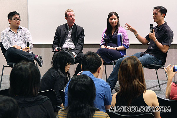 SAE Institutue and e2i's Discourse on Digital Journalism @ NTUC Building