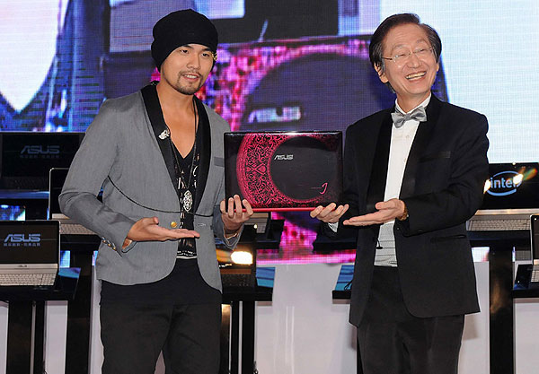ASUS + Jay Chou  (周杰伦) = Perfect Blend of Technology and Art